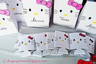Calling Supermom!!!: Hello Kitty Birthday Party ideas