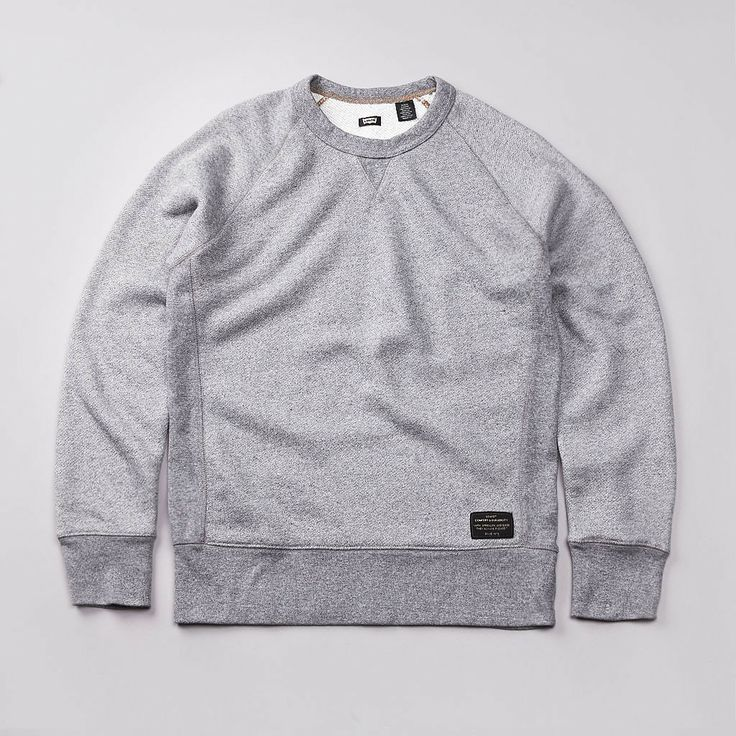 Flatspot - Levi's® Skate Crew Neck Fleece Sweatshirt Heather Grey