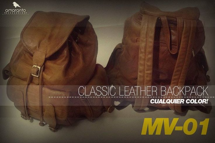 Classic backpack colección 2014