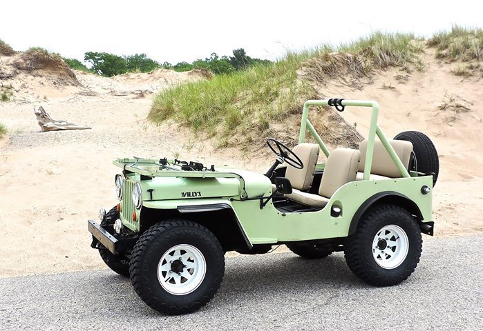 1946 Willys CJ-2A - Photo submitted by Brian Bauknecht.