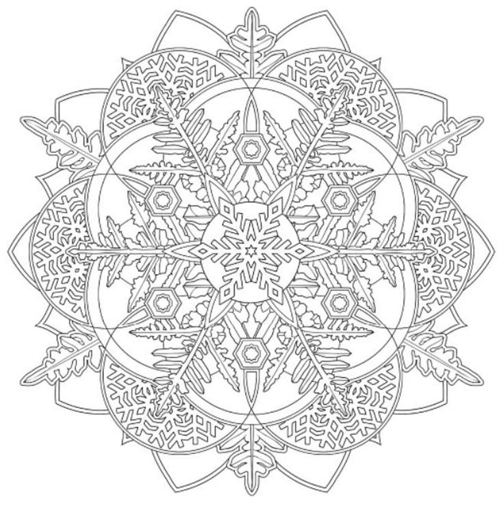 2169 best mandalas images on pinterest drawings, coloring book mitten coloring page snowflake printables cut out snowflake coloring page printable