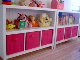 kids' room organizer