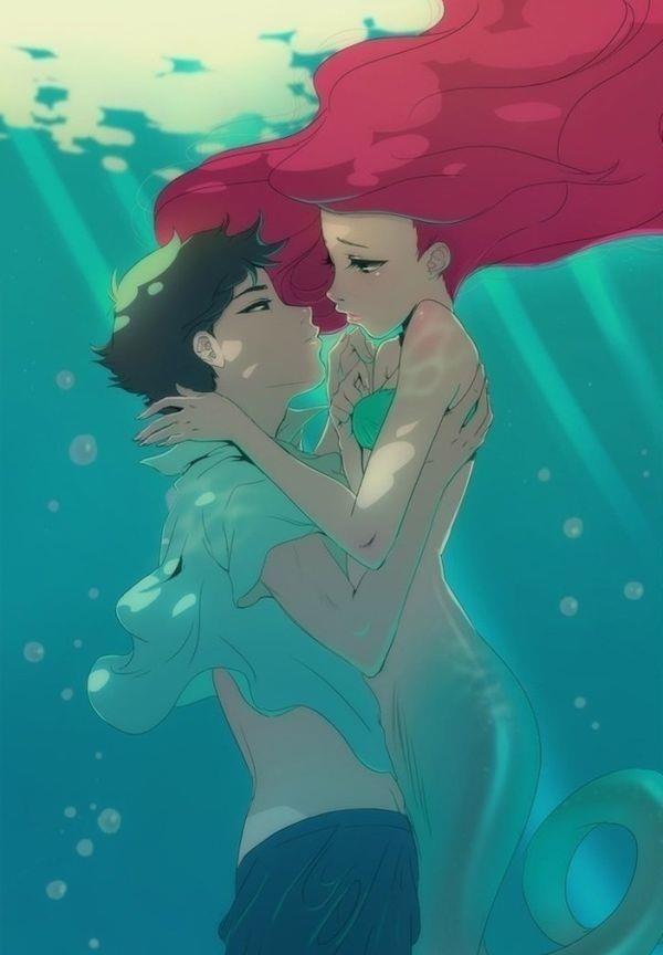 little mermaid anime