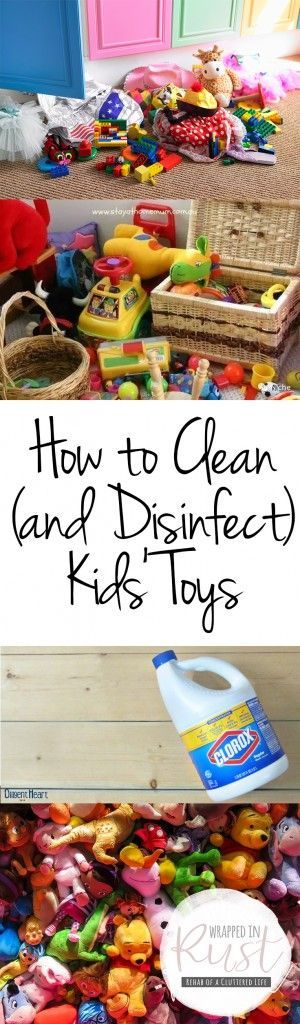 How to Clean (and Disinfect) Kids' Toys| How to Clean Kids Toys, Cleaning Kids Toys, Cleaning, Cleaning Hacks, Clean Home Hacks, Cleaning Tips and Tricks, Kids Cleaning, Cleaning Up After Kids, Cleaning Toys, Popular Pin