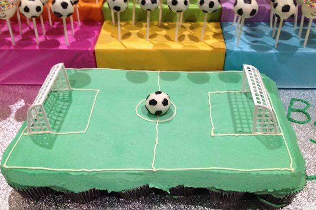 Edible Cake Images Football : 12 Best images about Soccer cakes on Pinterest Birthday ...