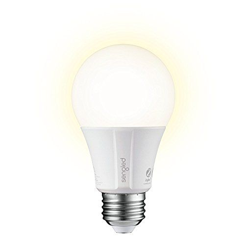 Element Classic by Sengled – 1 Pack – A19 60W Equiv. Soft White (2700K) Smart LED Bulb, Zigbee, Works with Amazon Echo Plus & SmartThings, Hub Required for Amazon Alexa & Google Assistant