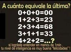 Acertijo matemático. Yo si pude
