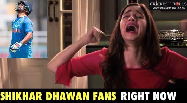 Shikhar Dhawan departs on 14 off 20 balls #INDvNZ #3rdODI - http://ift.tt/1ZZ3e4d