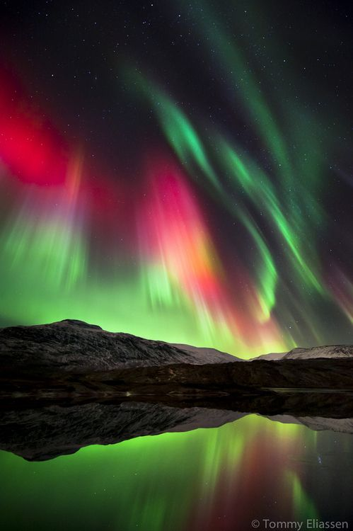 Sky show, Norway, by Tommy Eliassen | . beautiful places ...