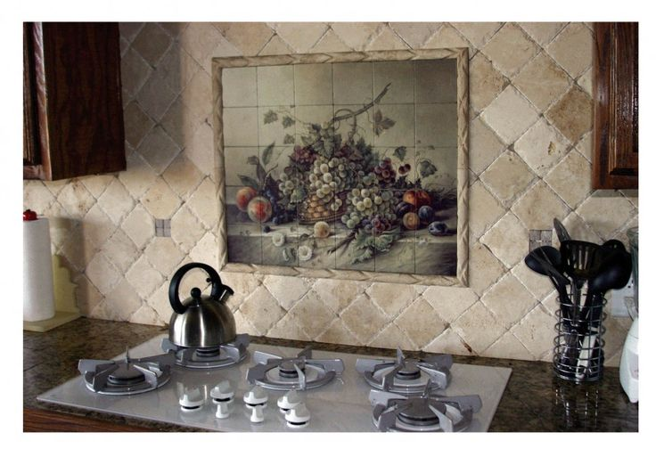 Kitchen : Kitchen Nice Tuscan Decoration Ideas With Traventine Backsplash Also Mural Over The Dark Brown Oak Kitchen Sets Gorgeous Tuscan Themed Kitchen Design And Bring Something Old And Classic Look With Tuscan Home Kitchen Backsplash Designs Backsplash Designs Above Stove. Tuscan Home Kitchen Backsplash Designs. Kitchen Designs For Small Kitchen.