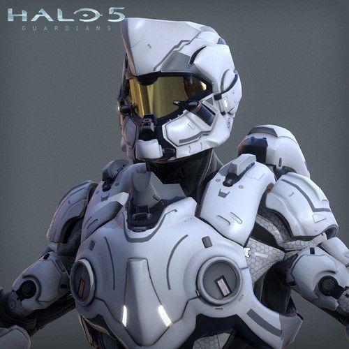 Halo 5 - Jumpmaster armor - 3d game model, Adam Sacco on ArtStation at https://www.artstation.com/artwork/NZ23b