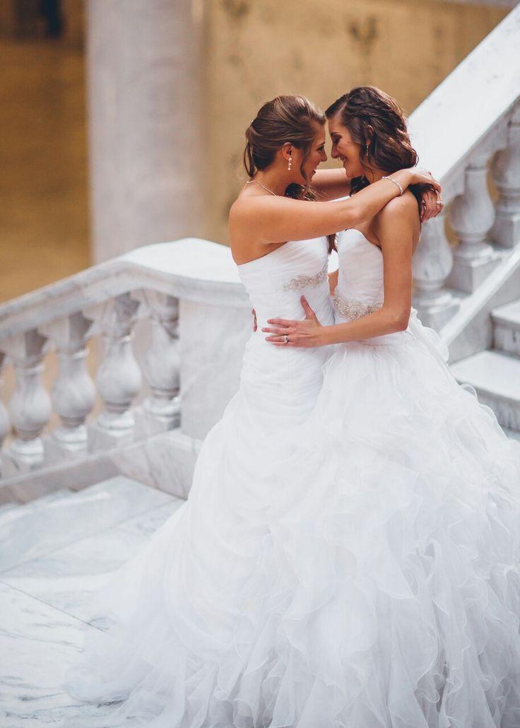 Two Brides #lesbianwedding