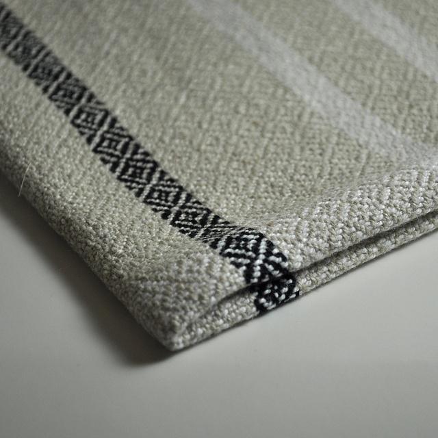Twill linen/cotton towel (22/2 Bockens Nialin) by TinkerTots