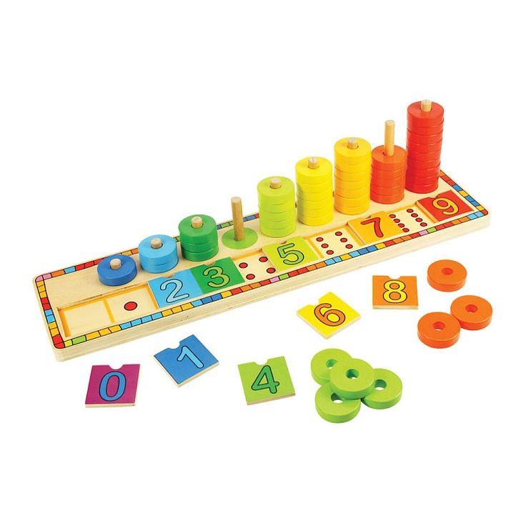 Bigjigs Toys, Nauka liczenia, układanka