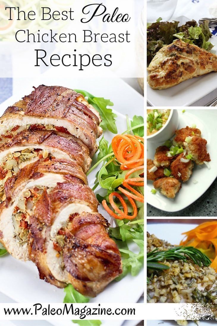 42 Mouth-Watering Paleo Chicken Breast Recipes http://paleomagazine.com/42-mouth-watering-paleo-chicken-breast-recipes #paleo #primal #diet #recipe