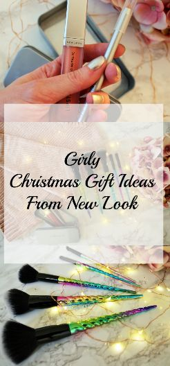 Girly Christmas Gift Ideas from New Look #christmas2017 #christmasgiftideas