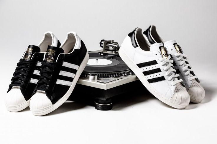 Adidas Superstar Blancas Y Negras Originales
