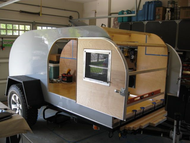 5 X 8 Teardrop Trailer Google Search Campers Teard