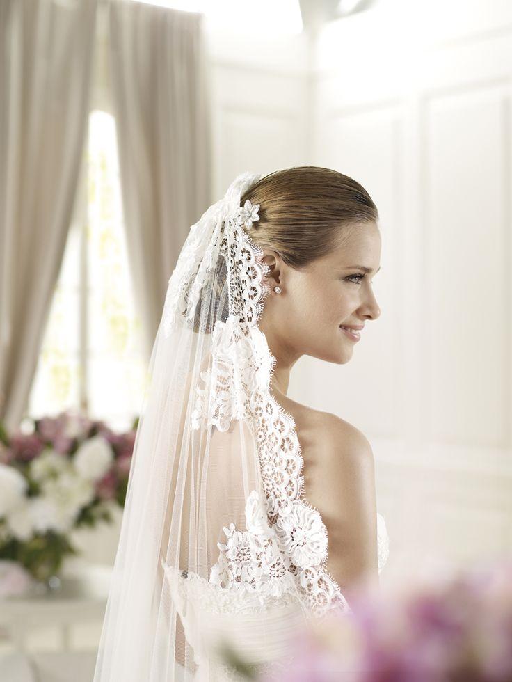 19 best Silk Veil images on Pinterest | Wedding veils, Wedding hair ...