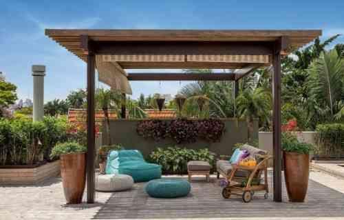 idée d'aménagement de patio de terrasse
