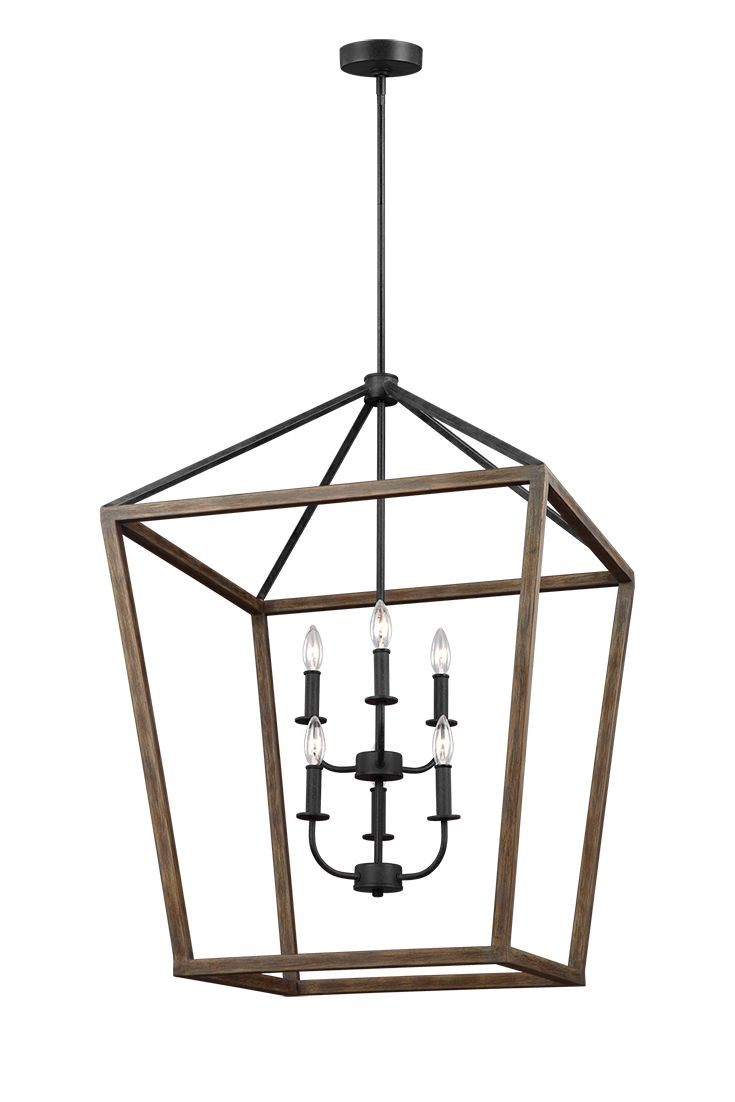 Rustic Foyer Chandelier : The gannet light foyer chandelier by feiss exudes rustic