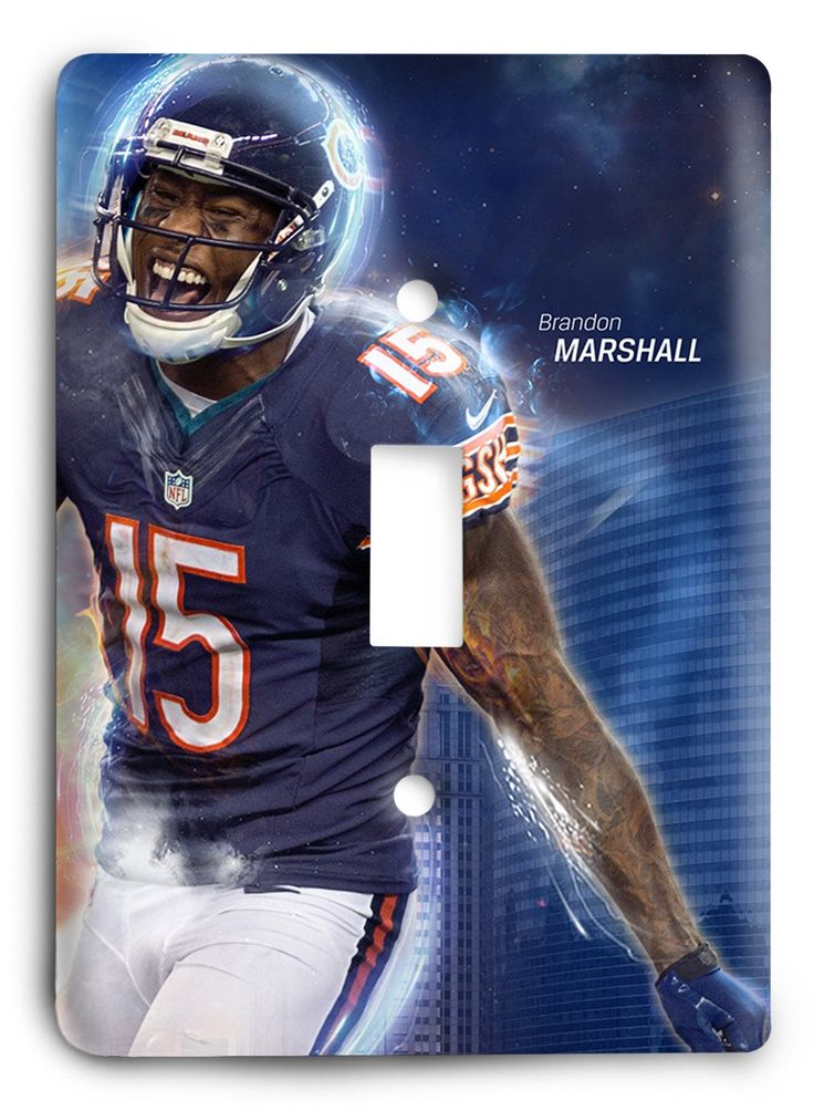 Brandon Marshall Chicago Bears STRONG2 Light Switch Cover