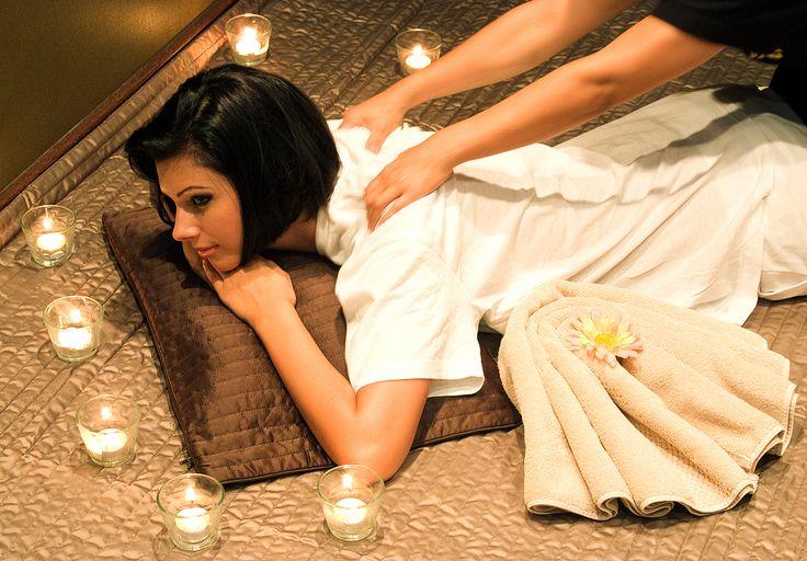 massage at the wellness department