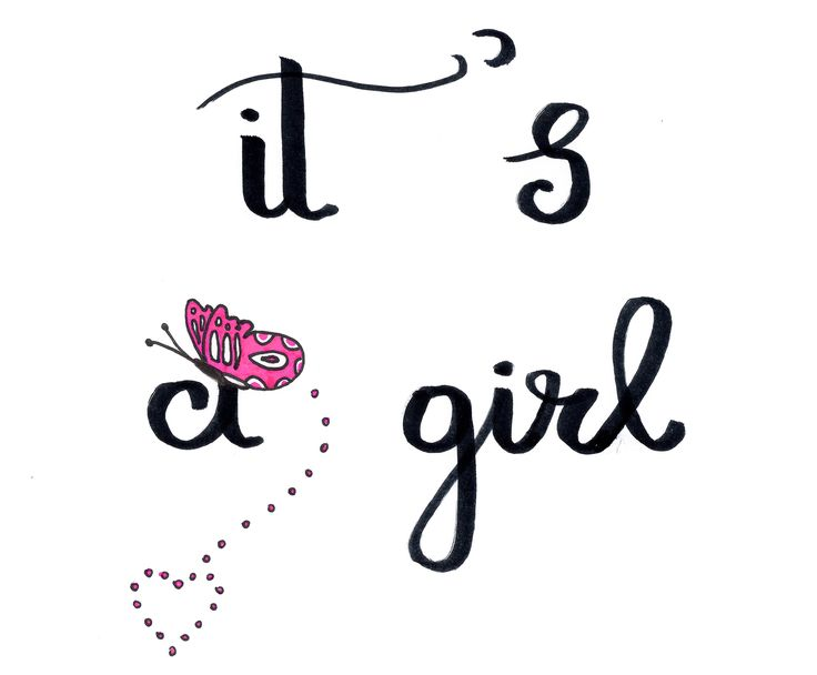 Congratulations! It's a girl .Your child is blessed .Jesus Christ is the son of God .God is love.