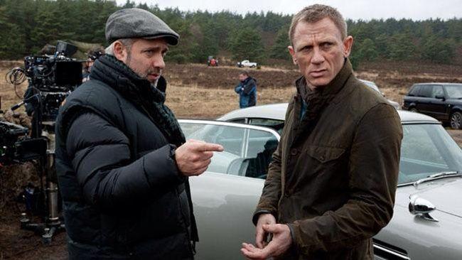 007 スカイフォールとBarbour Beacon Heritage