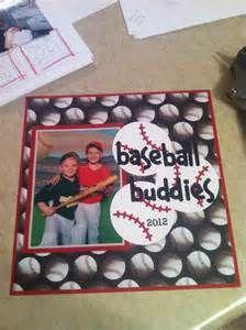 Scrapbook layout baseball Tball - quickutz   Scrapbooking