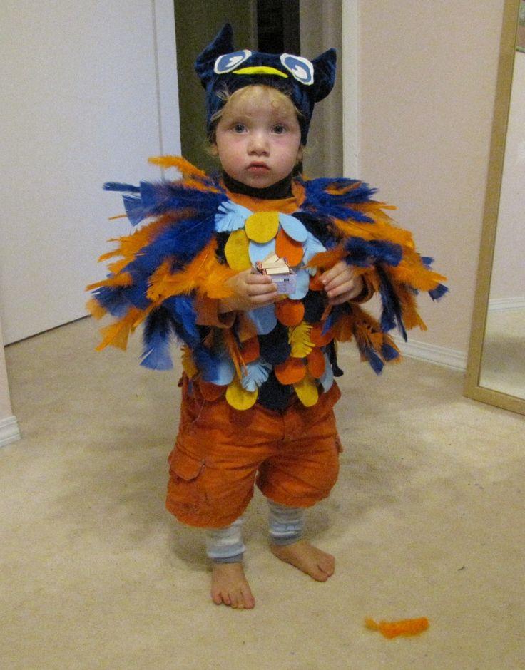 Best 25 owl costume kids ideas on pinterest owl costumes owl easy adorable owl costume solutioingenieria Images
