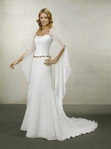 Vestidos de boda medievales.