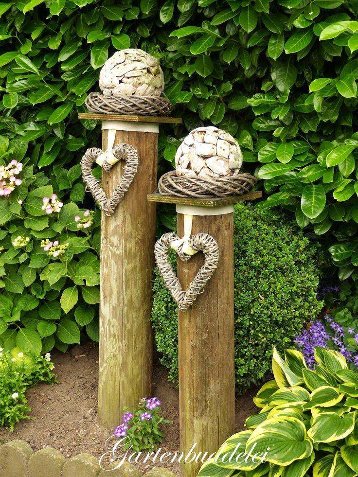 Die besten 25+ Baumstamm deko Ideen auf Pinterest Baumstamm - baume fur den vorgarten
