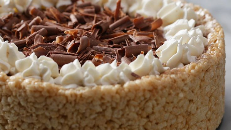 Cheesecake Decoration Ideas Luxury Crispy Rice Cereal Chocolate Cheesecake Maybe Try Cheesecake Recipes, Dessert Recipes, Desserts, Rice Cereal, Kashi Cereal, Paleo Cereal, Quinoa Cereal, Bran Cereal, Food Cakes