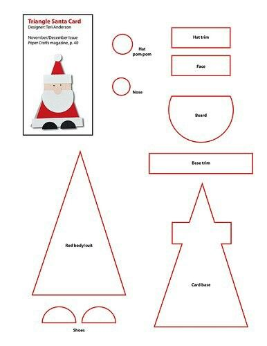 Santa template