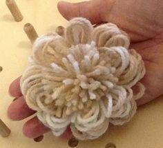 Tutorial Fiore al telaio quadrato di Clara |Chiocciolina creativa - costruisci il mondo con le tue mani