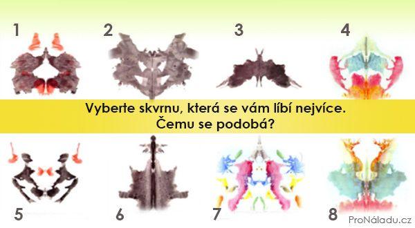 Vyberte skvrnu, která se vám líbí nejvíce. Ukáže vaše pravé já? | ProNáladu.cz