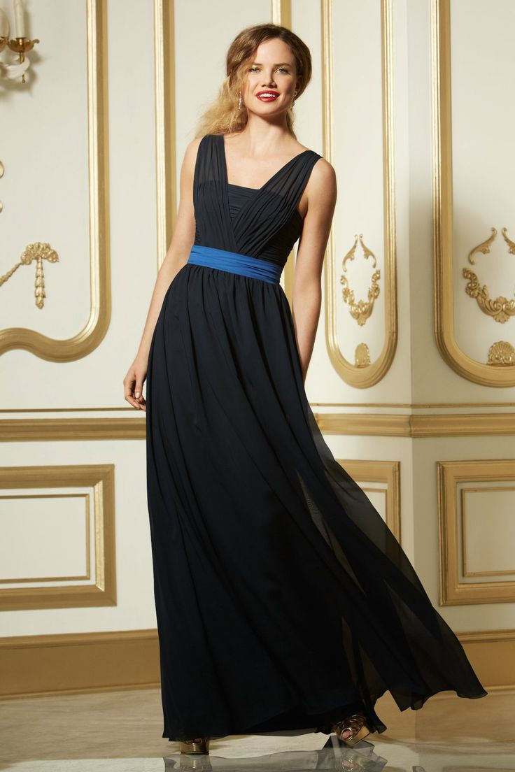 77 best new seasons styles images on pinterest bridesmaid dress wtoo bridesmaid dress 590 fall 2013 collection draped modified v neck self sash at waist gathered floor length full a line skirt different colors ombrellifo Image collections
