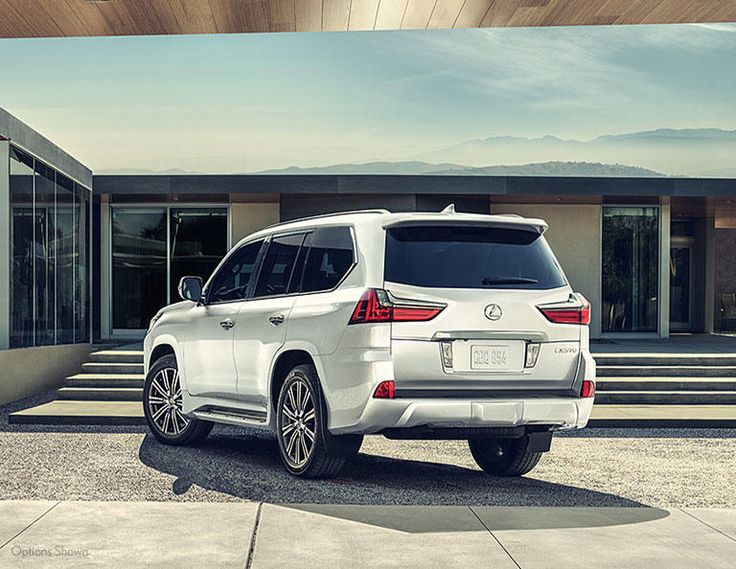 2016 Lexus LX - New Lexus Model Details from Lexus of Las Vegas