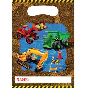 Buy Kids Birthday Party Supplies Construction Trucks Dangling Cutouts , for $7.95 only at Party Craze.