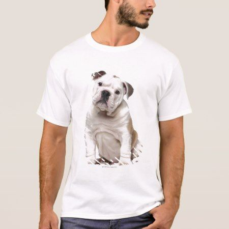English bulldog puppy (2 months old) T-Shirt - tap, personalize, buy right now!