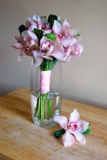 Make A Cymbidium Orchid Bouquet