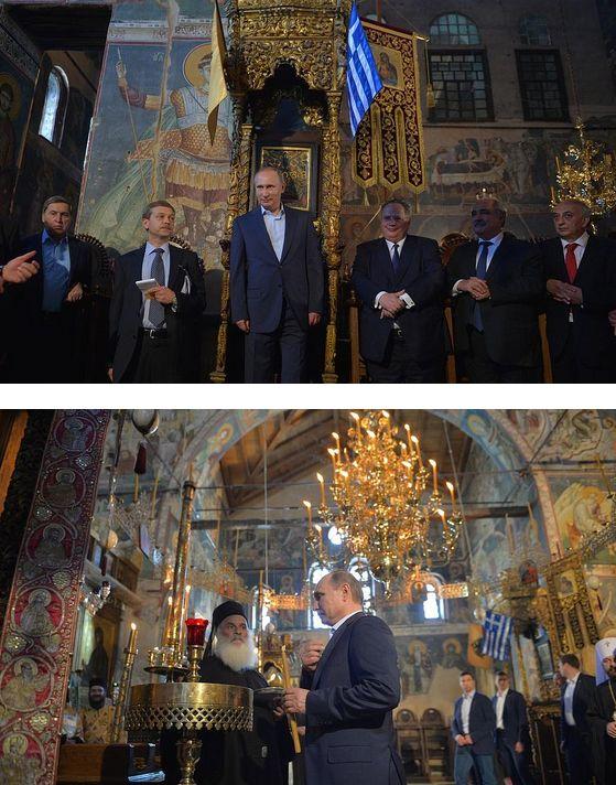 EISTOEPANIDEIN: Ρωσικά ΜΜΕ: «Ο Β.Πούτιν στο θρόνο του τελευταίου Βυζαντινού Αυτοκράτορα» - Το μήνυμα προς την Toυρκία (PHOTOS-VIDEOS)