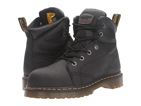 Dr. Martens Work Fairleigh Steel Toe 6-Eye Boot