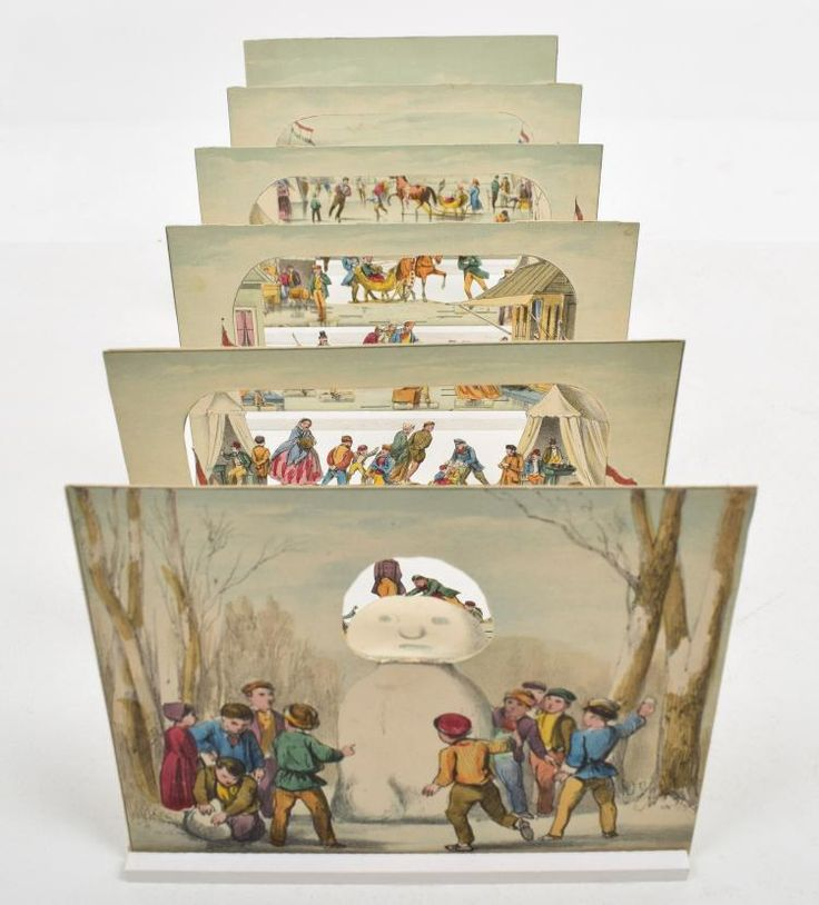 Buy online, view images and see past prices for [Peepshow] Winterpret. Invaluable is the world's largest marketplace for art, antiques, and collectibles.  H.L. van Hoogstraten, ca. 1860. 6 table-top tableaux together creating a diorama. In very good condition. 12.8 x 16.1 cm. Auction estimate: €125 - €250
