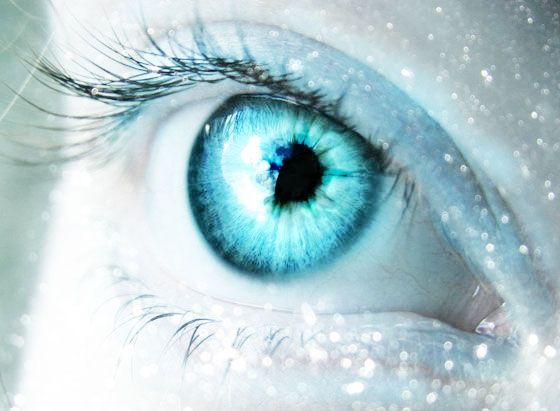 Icy stare | Aqua, Turquoise and Teal | Pinterest Human Ice Blue Eyes