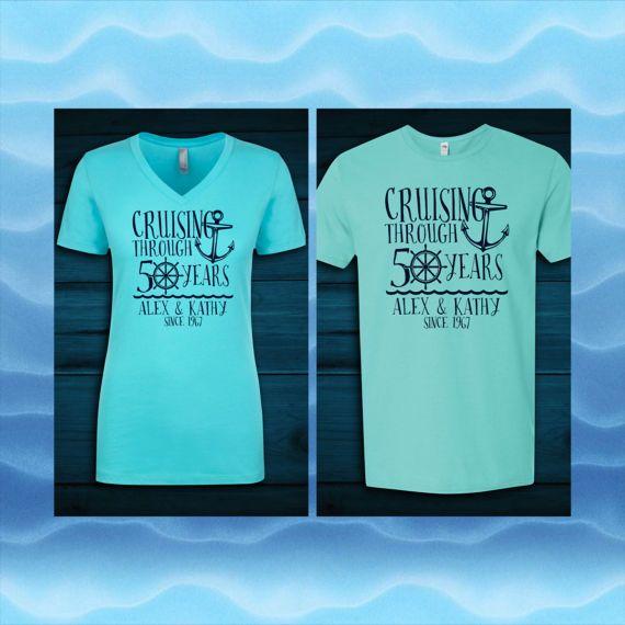 Custom Anniversary Cruise Shirts Cruises And Anniversaries