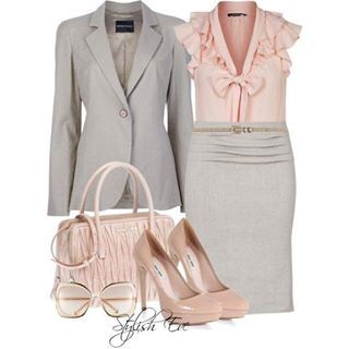 work/ church clothes.....in love with the nude look