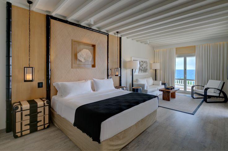Seaview Suite Bedroom | Santa Marina, A Luxury Collection Resort, Mykonos