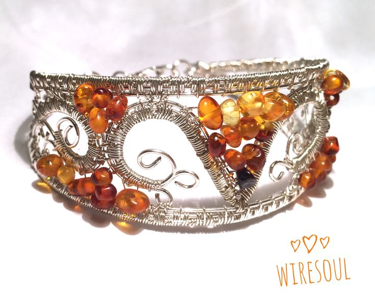 Wire wrapped jewerly, wire wrapped pendant, Wire wrapped jewerly, wire wrapped bracelet, amber